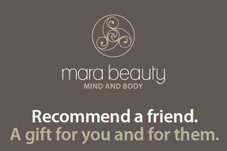 Recommend a friend. A gift for you and for them.